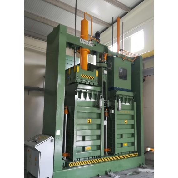 Double Box Baling Press